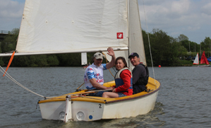 Dinghy sailing and learning to sail